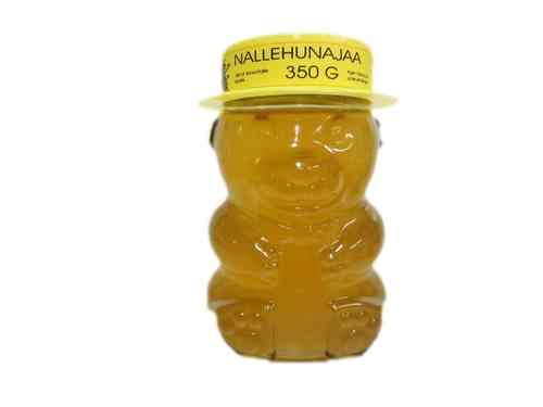 Glass Honey Teddy Bear 350g
