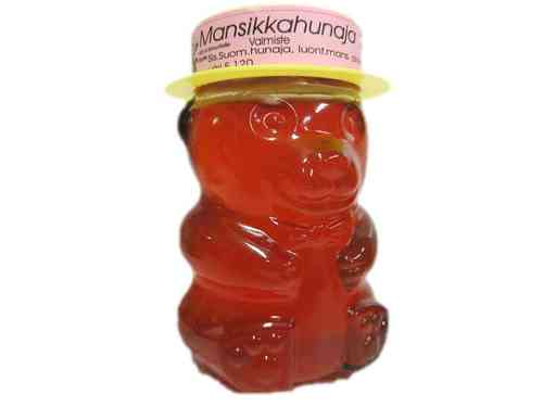 Strawberry Honey Teddy Bear 350g