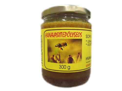Honey with bee pollen 300g