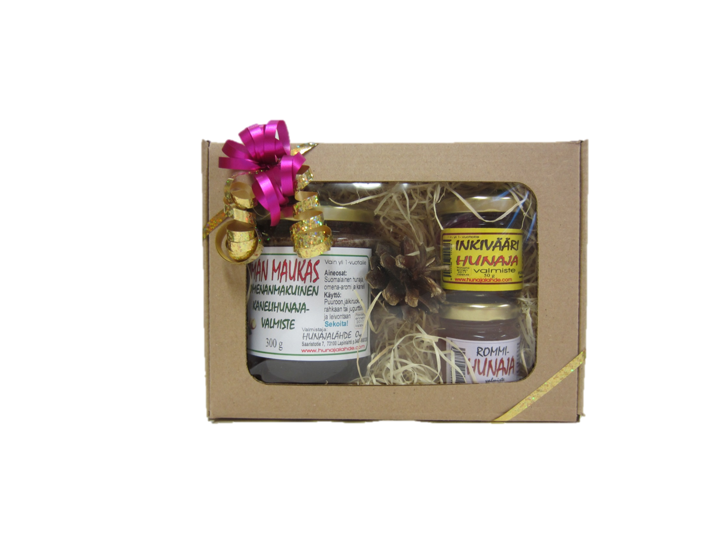 Honey Gift Set 300g, 50g and 50g